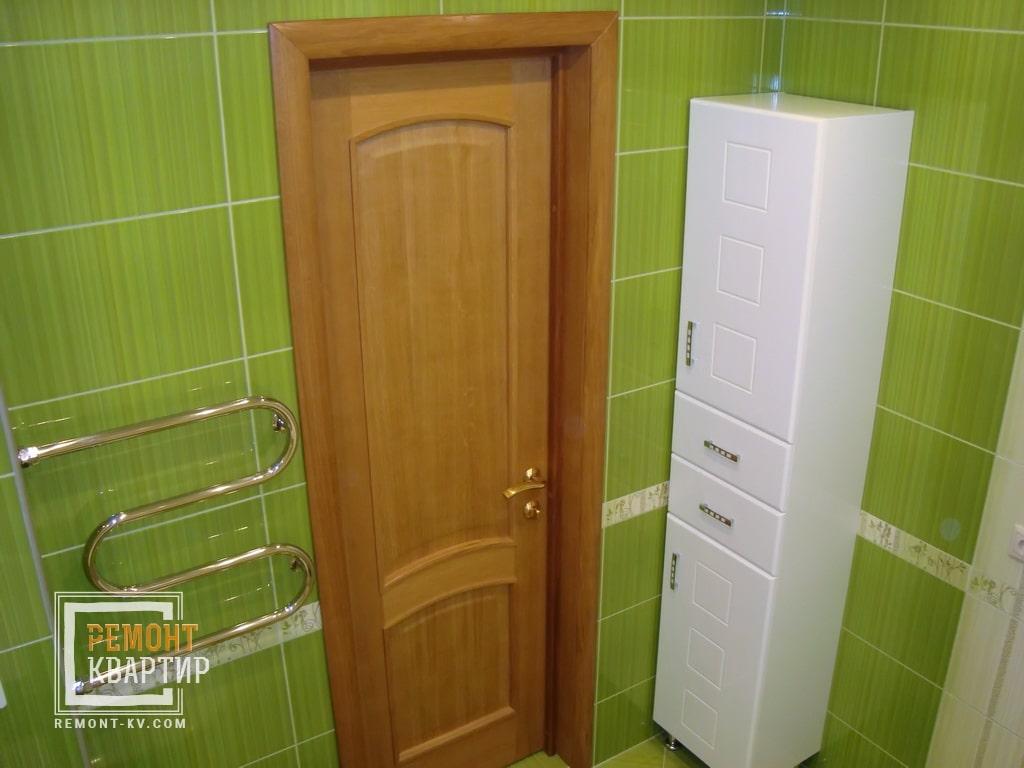 Пенал в ванной