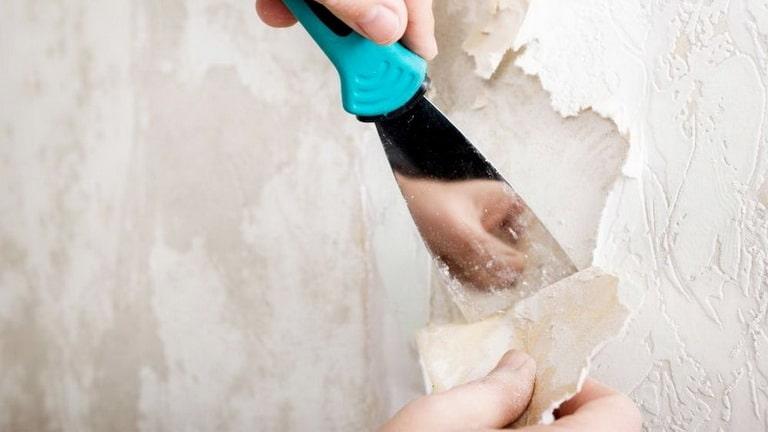Подготовка стены перед обоями