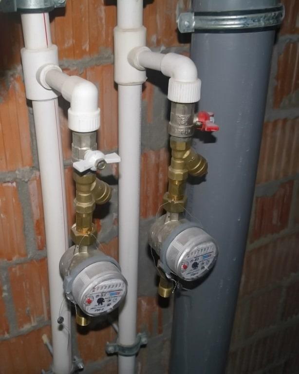 Стояк водопровода